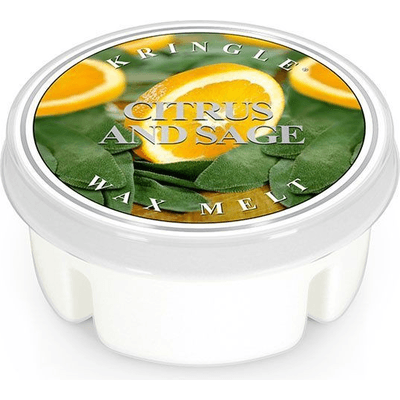 Wosk zapachowy: Cytryna i Szałwia (Citrus and Sage) Kringle Candle