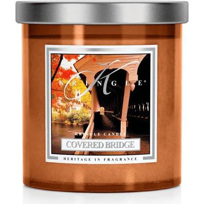 Świeca zapachowa - mała kolumna - Tajemniczy Most Kringle Candle