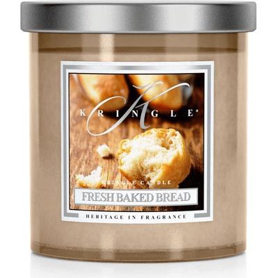 Świeca zapachowa - średnia kolumna - Świeży Chleb Kringle Candle