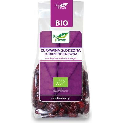 Żurawina słodzona cukrem trzcinowym BIO Bio Planet