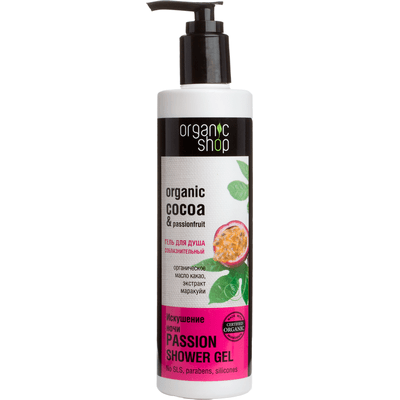 Organiczny zmysłowy żel pod prysznic - Nocna Pokusa Organic Shop