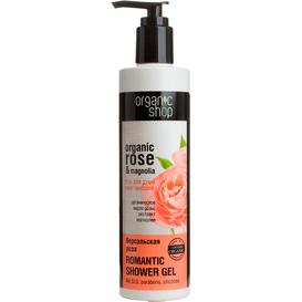 Organiczny zmiękczający żel pod prysznic - Róże Wersalu