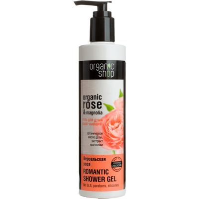 Organiczny zmiękczający żel pod prysznic - Róże Wersalu Organic Shop