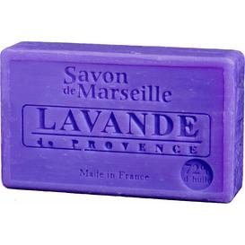 Mydło marsylskie z olejem ze słodkich migdałów - Lawenda