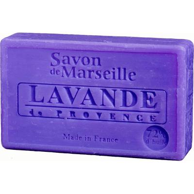 Mydło marsylskie z olejem ze słodkich migdałów - Lawenda Le Chatelard