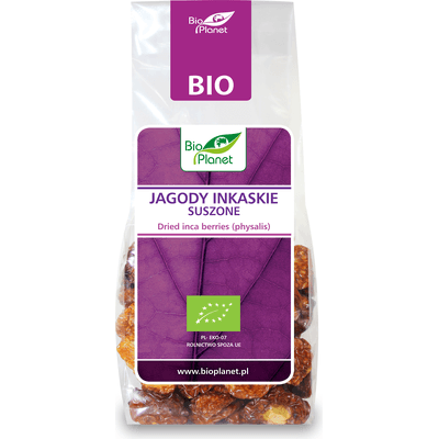 Jagody inkaskie suszone BIO Bio Planet