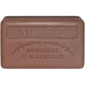 Foufour Mydło marsylskie z masłem shea - Piżmo / Musc, 125 g