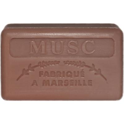 Mydło marsylskie z masłem shea - Piżmo / Musc Foufour