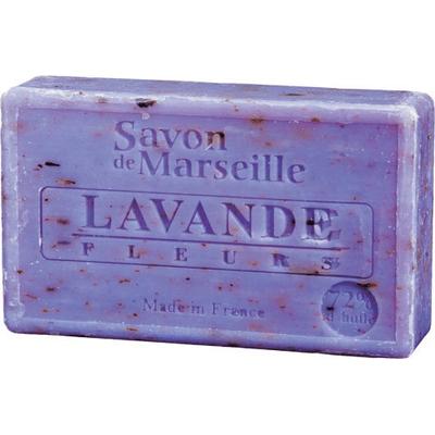 Mydło marsylskie z olejem ze słodkich migdałów - Kwiat lawendy Le Chatelard