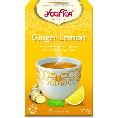 Herbata Imbirowo-Cytrynowa BIO - 17 x 1,8 g Yogi Tea