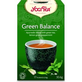 Yogi Tea Herbata Zielona Równowaga BIO - 17 x 1,8 g