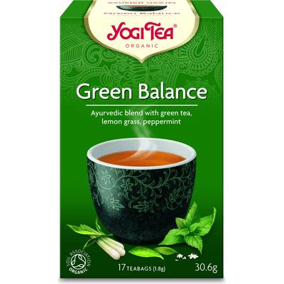 Herbata Zielona Równowaga BIO - 17 x 1,8 g Yogi Tea
