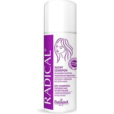 Suchy szampon do włosów tłustych i pozbawionych objętości (travel size) Farmona