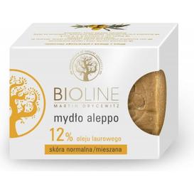 Bioline Mydło aleppo 12% oleju laurowego, 200 g