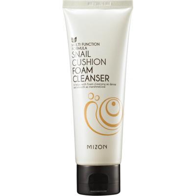 Piankowe mydło do oczyszczania twarzy ze śluzem ślimaka - Snail Cushion Foam Cleanser Mizon
