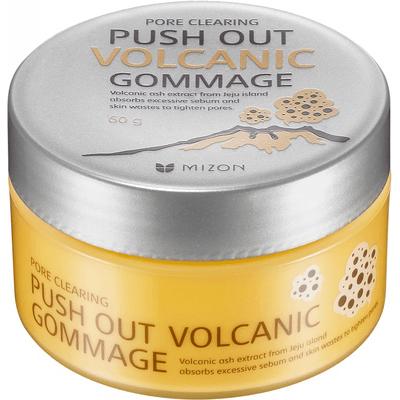 Oczyszczający peeling gommage z pyłem wulkanicznym - Pore Clearing Push Out Volcanic Gommage Mizon