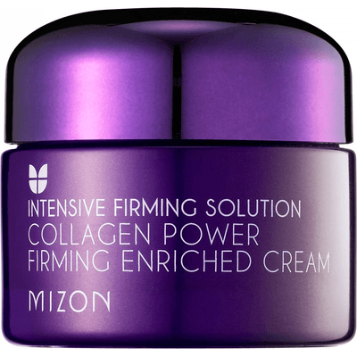 Ujędrniający krem do twarzy z kolagenem morskim - Collagen Power Firming Enriched Cream Mizon