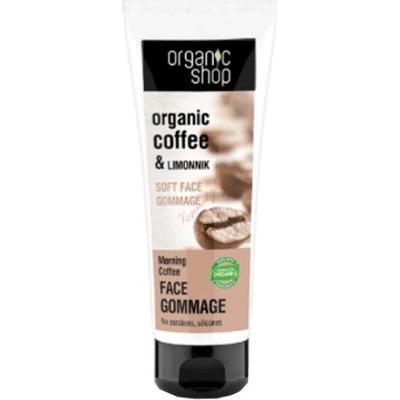Delikatny peeling do twarzy - Poranna kawa Organic Shop