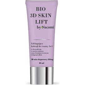 Nacomi Liftingujący koktajl do twarzy 3w1 - BIO 3D skin lift, 85 ml