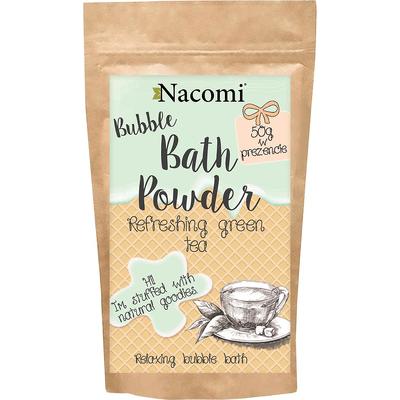 Puder do kąpieli - Odświeżająca zielona herbata Nacomi