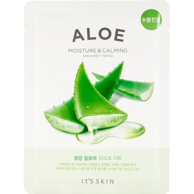Łagodząca maska tkaninowa do twarzy - Aloes It's Skin