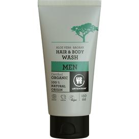 Urtekram Płyn do mycia włosów i ciała dla mężczyzn BIO