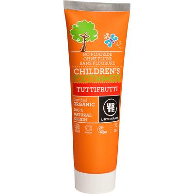 Pasta do zębów dla dzieci tuttifrutti bez fluoru BIO Urtekram