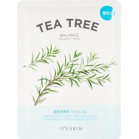 Przeciwtrądzikowa maska tkaninowa do twarzy - Drzewo herbaciane