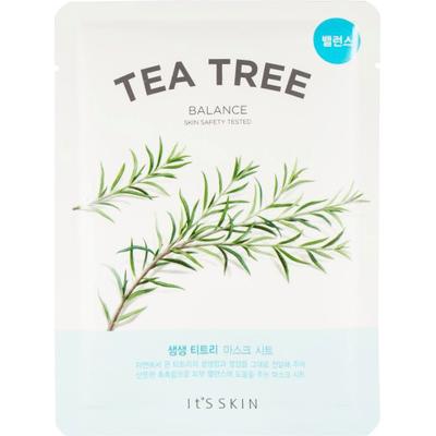 Przeciwtrądzikowa maska tkaninowa do twarzy - Drzewo herbaciane It's Skin