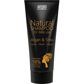 Avebio BIO szampon z olejkiem arganowym i masłem shea