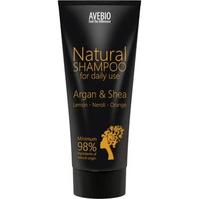 BIO szampon z olejkiem arganowym i masłem shea  Avebio