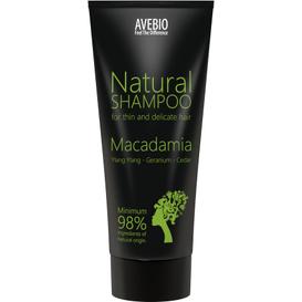 Avebio BIO szampon z olejkiem makadamia