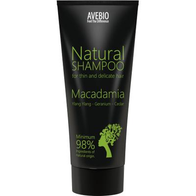 BIO szampon z olejkiem makadamia Avebio