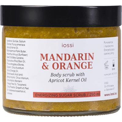 Cukrowy peeling do ciała - Energetyzująca mandarynka i pomarańcza IOSSI