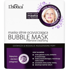 Maska silnie oczyszczająca - Bubble mask