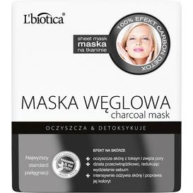 L'biotica Maska węglowa - Detoksykująca 23 ml