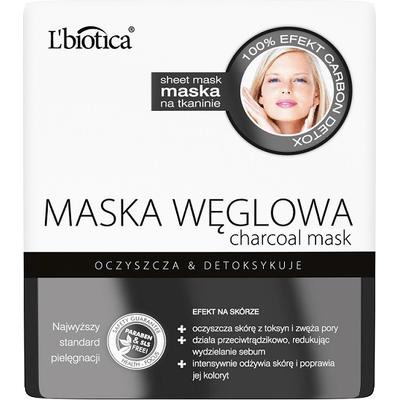 Maska węglowa - Detoksykująca L'biotica