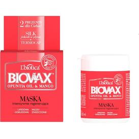 L'biotica Olej z Opuncji i Mango - Maska regenerująca