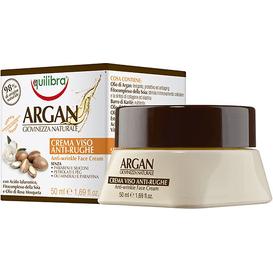 Equilibra Arganowy przeciwzmarszczkowy krem do twarzy, 50 ml