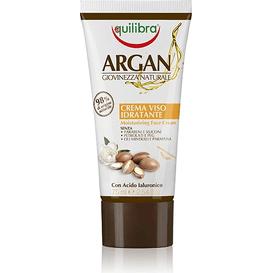 Equilibra Arganowy nawilżający krem do twarzy, 75 ml