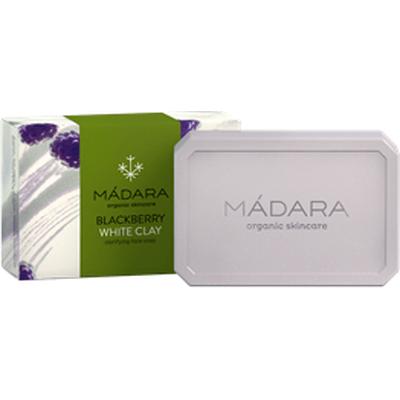 Jeżyny i Biała glinka - oczyszczające mydło do mycia twarzy Madara