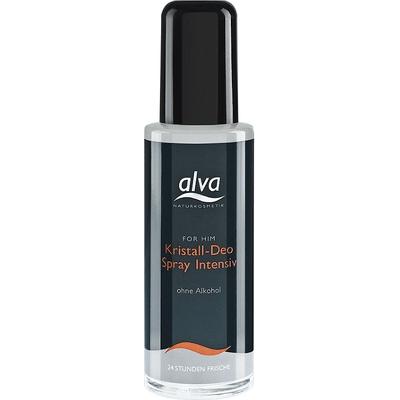 Dezodorant z kryształu w sprayu Alva Naturkosmetik For Him