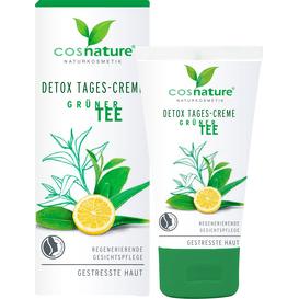 Cosnature Naturalny detoksykujący krem na dzień - Zielona herbata, 50 ml