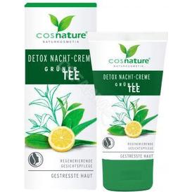 Cosnature Naturalny detoksykujący krem na noc - Zielona herbata, 50 ml