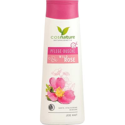 Naturalny odżywczy żel pod prysznic z dziką różą Cosnature
