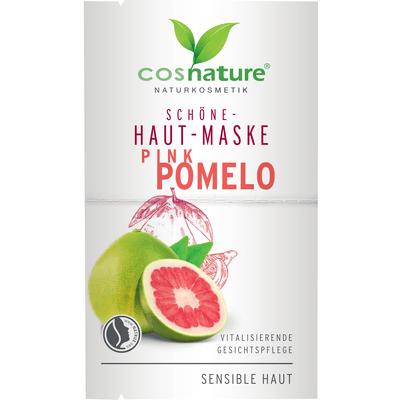 Naturalna upiększająca maska do twarzy z różowym pomelo Cosnature