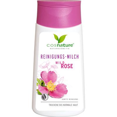 Naturalne mleczko oczyszczające do twarzy z dziką różą Cosnature