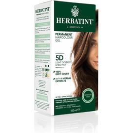 Herbatint Naturalna farba do włosów - Jasny złoty kasztan 5D