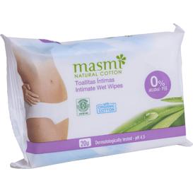 Masmi Chusteczki do higieny intymnej