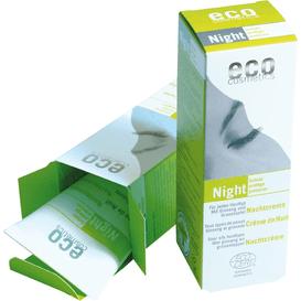 Eco Cosmetics Night - Krem odżywczy do twarzy na noc